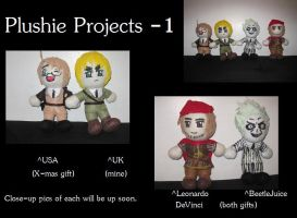 Plushie Projects by FullmetalApollo
