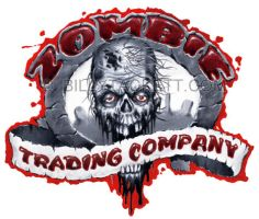 Zombie Trading Co. logo by billytackett