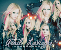 Avril Lavigne Layout by Feliatto