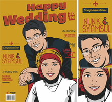 Happy Wedding by MrCarik