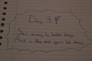 Day 3 Handwriting by MollyMotions