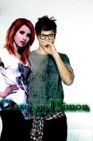 Clary Fray and Simon Lewis by midnighdreams86