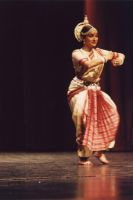 Indian Classical Dancer by Crigger