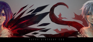 Collab: Happy Birthday Edo! by Linka08
