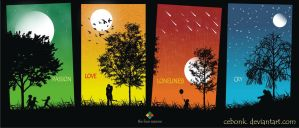 the four seasons by cebonk