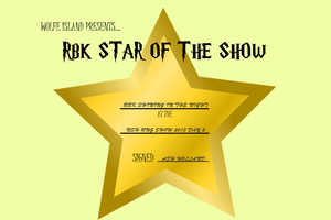 RBK Star of the Show #2 - RBK Shining in the Night by TheChiefofTime