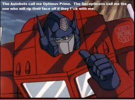 Optimus Introduces Himself by Crazomatic