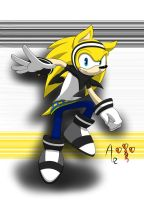 Ryan the Hedgehog X3 by AR-ameth