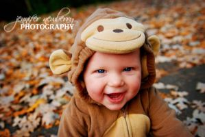 Happy Little Monkey Close-Up by filemanager