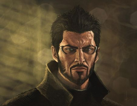 Adam Jensen #2 by Aestra