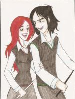 Lily y Severus again. by Minos336