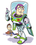 Buzz and Woody doodle. by Gashi-gashi