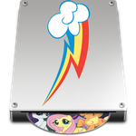 Pony Macintosh disk icon by Lasergun45