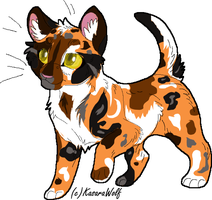Warrior Cat Adopt 5 ADOPTED by DracKeagan