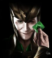 Loki, the God of Mischief (sexy version) by SylunaHirokashi