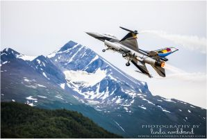 Belgian Air Component F-16 Solo Display Team by LindaNordstrand