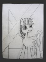 Twilight Sparkle sketch 02 by Frost-White01