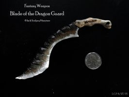 Miniature Weapon: Blade of the Dragon Guard by Sathiest-Emperor