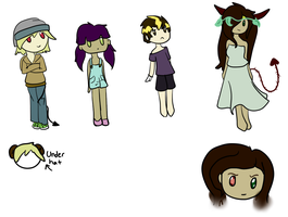 Free Human Adopts ::OPEN:: by InuLover097