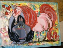 Tapir and Pretty Horse by Pocketowl