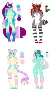 $4 USD Adoptables (OPEN) by LaurenPuff