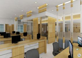 office interiors by creativegenie