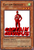 TS cards 11: Captain Obvious by TalkingStick