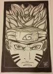11x17 Naruto edited.  by Cocheese-illustrated