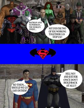 The World's Finest vs. The Legion of Doom by Gery850