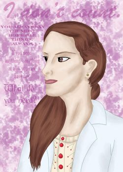 BBC Sherlock Molly Hooper by comicalclare