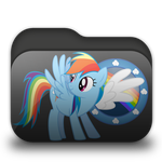 Rainbow Dash Folder by Togekisspika35
