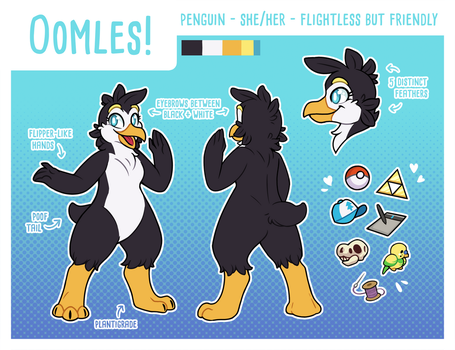 Oomles Reference Sheet by OEmilyThePenguinO