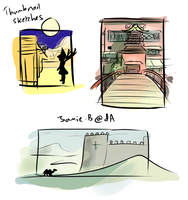 Thumbnail sketches by Jamie-B