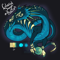 [Dragon Auction] Celestial Serpent by Linkaton