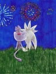 Fireworks (Summer Silvaze Contest Entry) by HannahTheHedgehog15