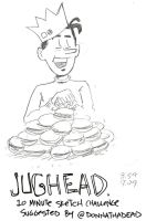 Jughead 10 Minute Sketch Challenge by MonkeySquadOne