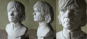Tyrion Lannister Bust by Nymla