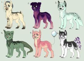 Canine Adoptables - closed by etriers