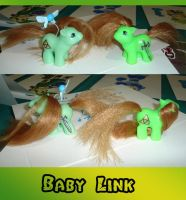 Link x2 My Little Pony Custom by AnimeAmy