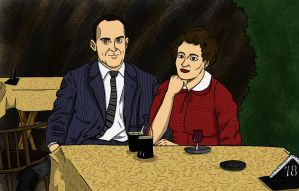 Grandparents in the fifties 2 by Filibusteria