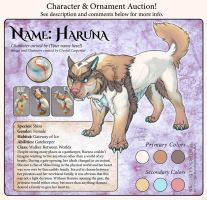 Character Auction - Haruna - CLOSED by soulofwinter