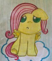 Baby Fluttershy by InvaderRiley17