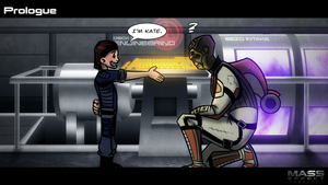 Mass Effect: Survival - Prologue (Illustration) by Quinn-G