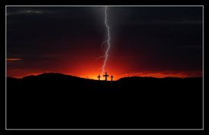 Lightning Sunset by andreicd
