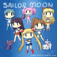 CandyArts' Sailor Moon chibi by Candy-Arts