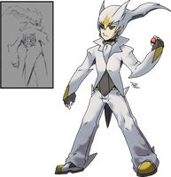 Arceus Trainer by Xous54