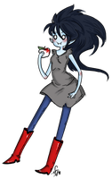 Oh Marceline by Squidbiscuit