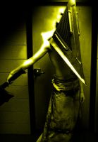 Pyramid Head Costume by Flatline10