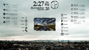 rainmeter pileus modified by patricklsl