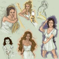 Greek Goddess Galore by MioneBookworm
